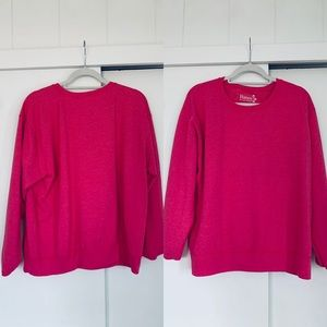 Pink comfortable jacket By Hanes